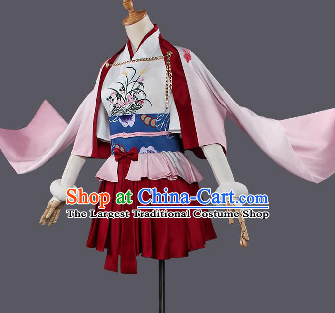 Chinese Traditional Cosplay Female Knight Costumes Ancient Swordswoman Dress for Women