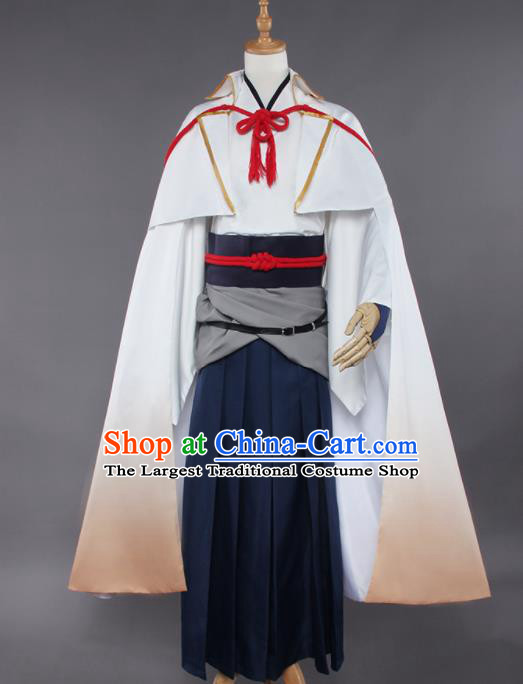 Chinese Traditional Cosplay Swordsman Costumes Ancient Assassin Nobility Childe Clothing for Men