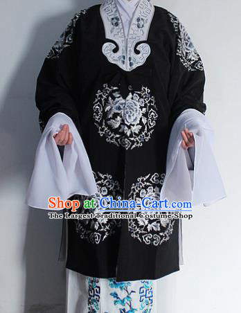 Chinese Traditional Peking Opera Old Lady Costumes Ancient Countess Embroidered Dress for Women