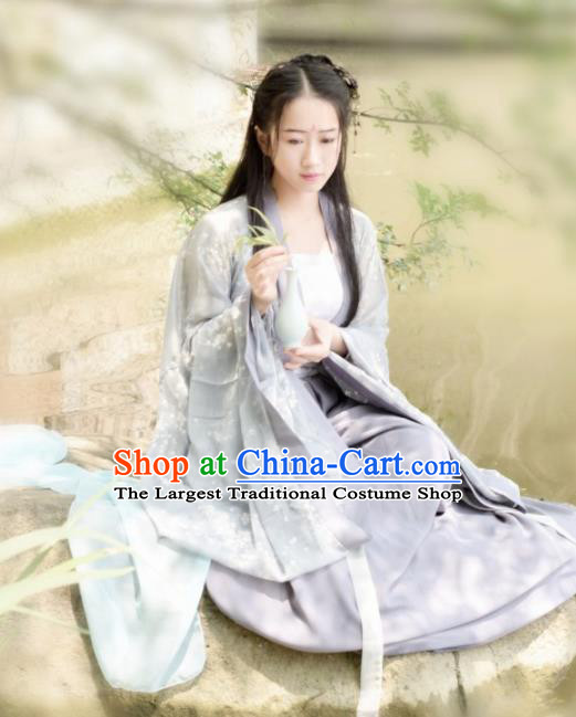Chinese Traditional Palace Hanfu Dress Ancient Tang Dynasty Princess Costumes for Women