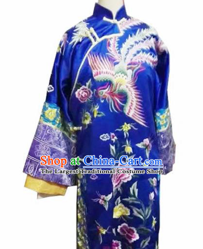 Chinese Qing Dynasty Imperial Consort Embroidered Costumes Ancient Manchu Empress Hanfu Dress for Women