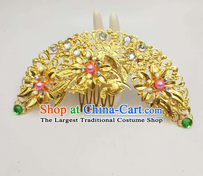 Chinese Ancient Princess Hair Accessories Palace Hair Comb Hairpins for Women