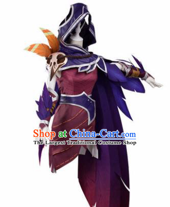 Chinese Traditional Cosplay Assassin Costumes Ancient Swordsman Clothing for Men