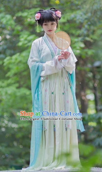 Chinese Ancient Tang Dynasty Princess Replica Costumes Traditional Palace Lady Hanfu Dress for Women