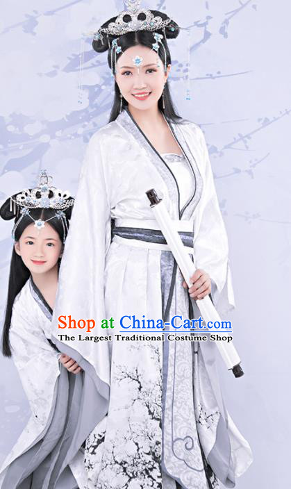 Chinese Ancient Imperial Consort Hanfu Dress Traditional Tang Dynasty Palace Lady Embroidered Costumes for Women