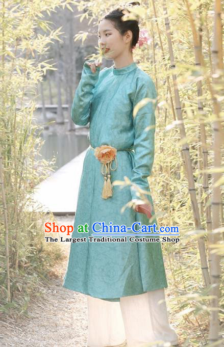 Chinese Tang Dynasty Swordswoman Replica Costumes Traditional Ancient Imperial Bodyguard Round Collar Robe for Women