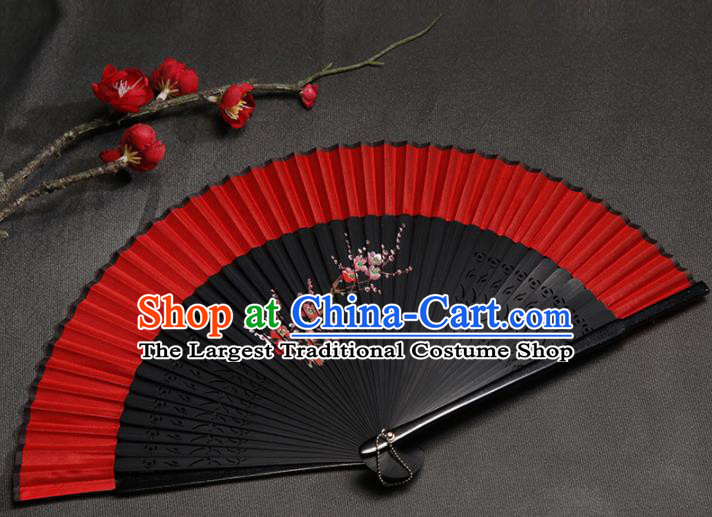 Chinese Traditional Crafts Silk Folding Fans Classical Fans Accordion Fan