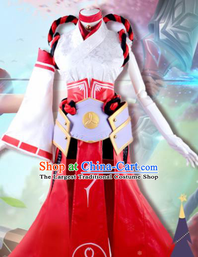 Chinese Ancient Swordswoman Costumes Female Knight Dress for Women