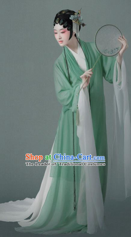 Traditional Chinese Song Dynasty Nobility Lady Embroidered Costume Palace Lady Dress for Women
