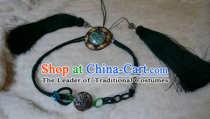 Traditional China Ancient Cosplay Swordsman Hair Accessories Hair Clasp for Men