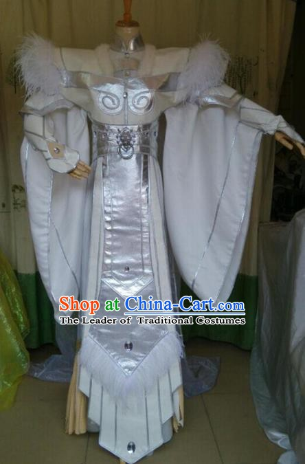 Traditional China Ancient Cosplay Nobility Childe Costume Halloween Swordsman Clothing for Men