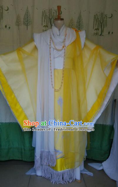 Traditional China Ancient Cosplay Emperor Costume Halloween Swordsman Clothing for Men