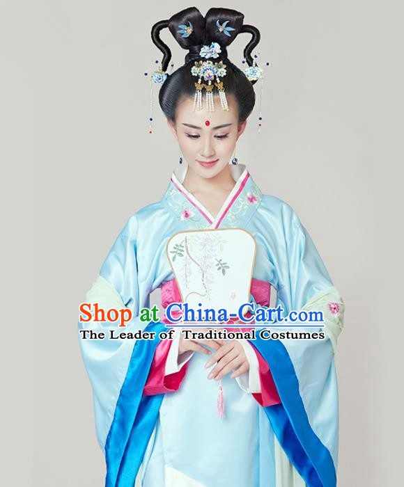 Chinese Ancient Style Wedding Costume Hair Accessories Cosplay Clothing and Hairpins Headwear for Women