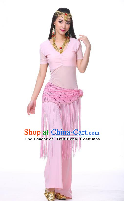 Indian Belly Dance Costume India Raks Sharki Pink Suits Oriental Dance Clothing for Women