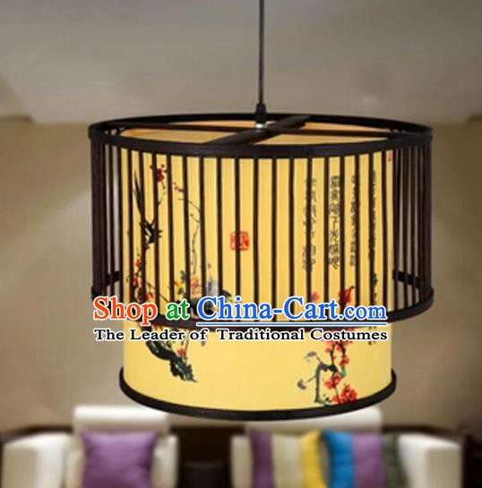 Top Grade Handmade Painted Hanging Lanterns Traditional Chinese Palace Lantern Ancient Ceiling Lanterns