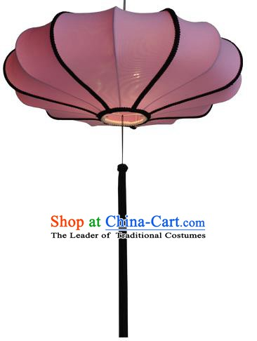 Top Grade Handmade Pink Lanterns Traditional Chinese Palace Lantern Ancient Ceiling Lanterns