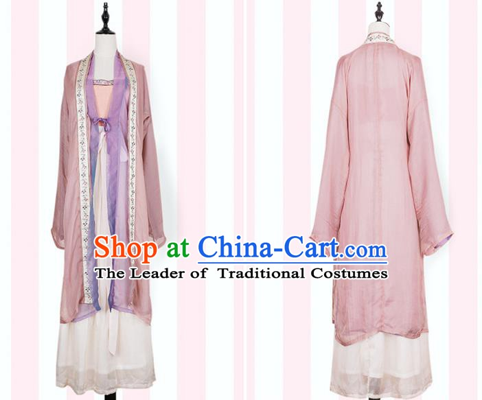 Traditional Chinese Ancient Costume China Wedding Dress Ancient Jin Dynasty Hanfu Princess Clothing