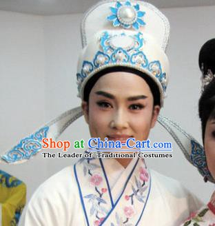 Traditional Chinese Beijing Opera Young Men Hats Peking Opera Niche Headwear