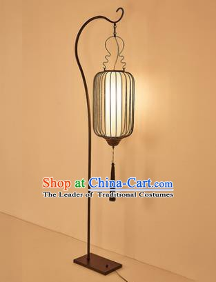 Traditional Asian Chinese Lantern China Style Lamp Electric Palace Floor Lantern