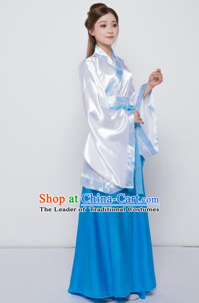 China Han Dynasty Palace Lady Costume Theatre Performances Ancient Princess Dress for Women