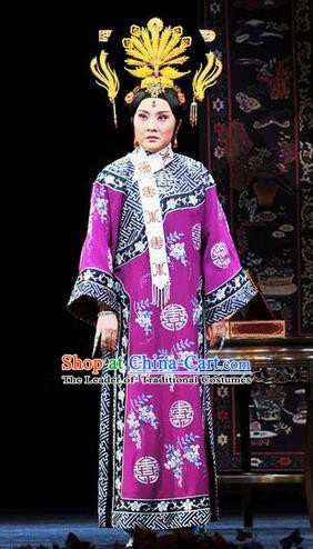 Chinese Ancient Qing Dynasty Queen Cixi Replica Costumes Manchu Dress Historical Costume for Women