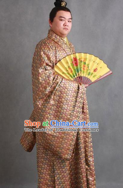 Chinese Ancient Novel A Dream in Red Mansions Nobility Childe Dude Xue Pan Costume for Men