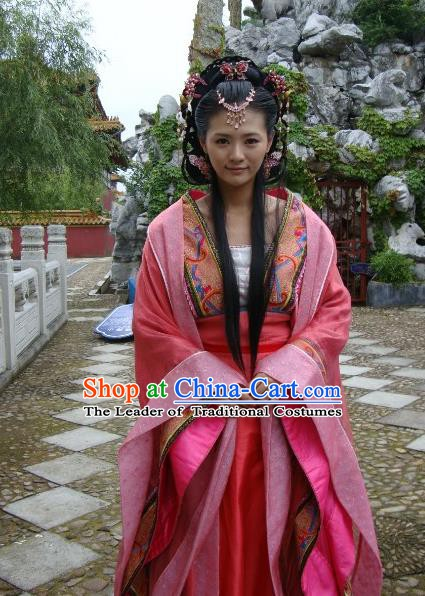 Ancient Chinese Ming Dynasty Imperial Concubine De Historical Costume Embroidered Replica Costume for Women