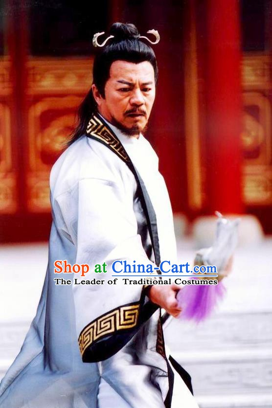 Chinese Ancient Song Dynasty General Yang Ye Replica Costume for Men