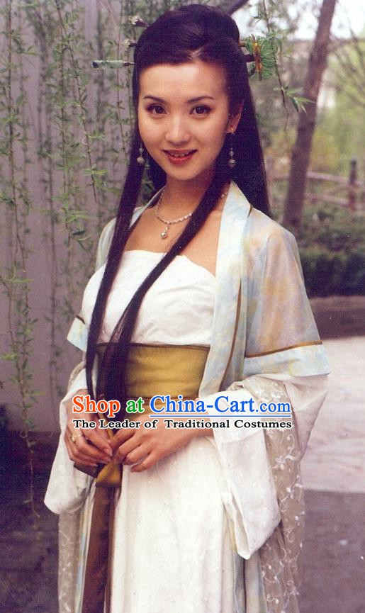 Ancient Chinese Ming Dynasty Palace Princess Hanfu Replica Costume for Women