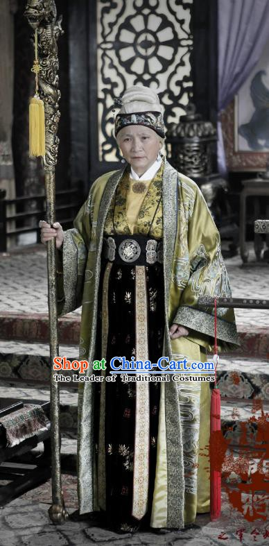 Ancient Chinese Song Dynasty Yang Family Female General She Saihua Replica Costume for Women