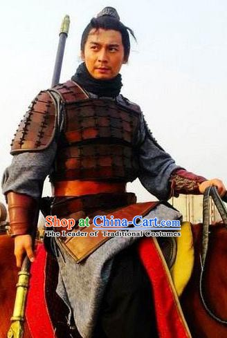 Chinese Ancient Novel Water Margin Character Shi Xiu Costume Song Dynasty Mount Liang Hero Replica Costume