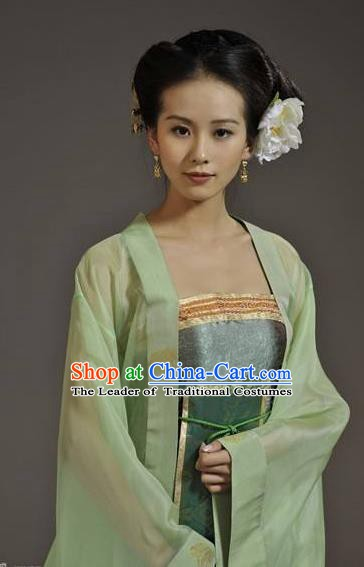 Chinese Ancient Southern Song Dynasty Palace Princess Replica Costume for Women