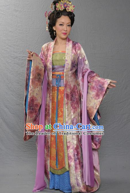 Chinese Ancient Costume Song Dynasty Imperial Consort Hui Replica Costume for Women