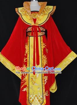 Traditional Chinese Beijing Opera Imperial Empress Dress Peking Opera Diva Embroidered Costume