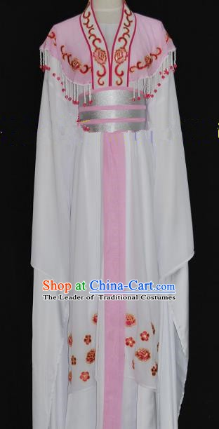 Traditional Chinese Beijing Opera Princess Dress Peking Opera Diva Embroidered Costume