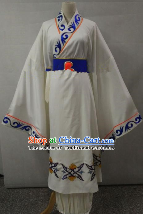 Traditional Chinese Beijing Opera Costume Professional Peking Opera Empress Diva Embroidered Hanfu Dress