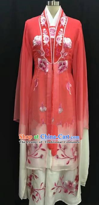 Traditional Chinese Beijing Opera Costume Professional Peking Opera Diva Red Dress