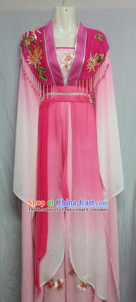 Top Grade Chinese Beijing Opera Actress Pink Dress China Peking Opera Nobility Lady Costume