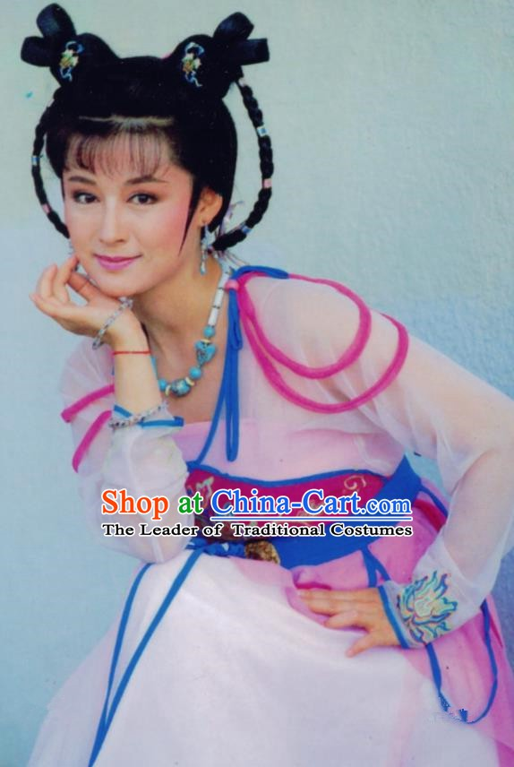 Chinese Ancient Tang Dynasty Palace Lady Wu Zetian Dress Historical Costume for Women
