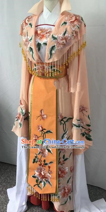 Top Grade Chinese Beijing Opera Princess Dress China Peking Opera Diva Embroidered Costume