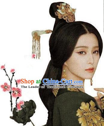 Chinese Ancient Palace Lady Hair Accessories Complete Set Hair Stick Hairpins Tassel Step Shake for Women