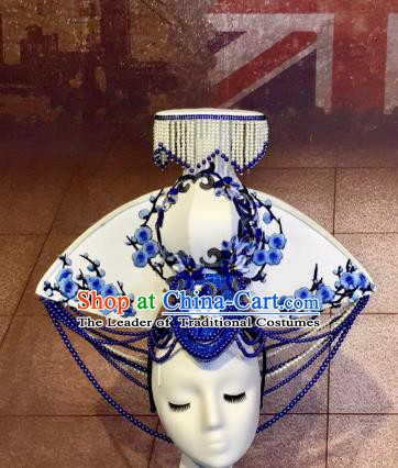 Top Grade China Style Hair Accessories Stage Performance Headdresses for Women