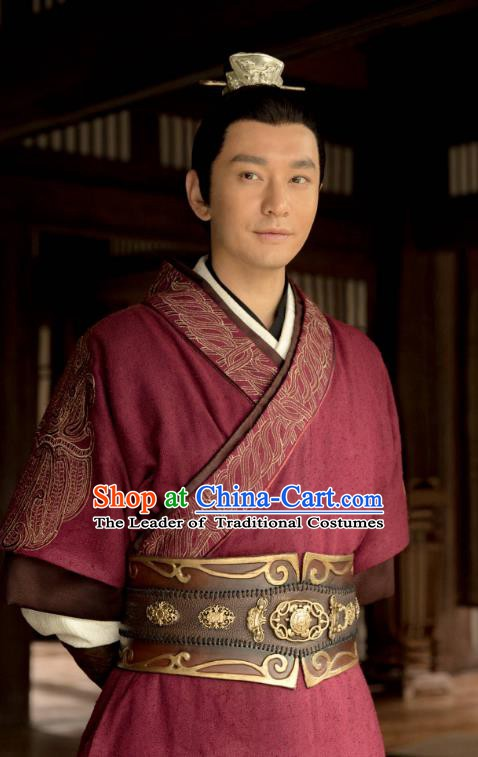 Nirvana in Fire Chinese Ancient Northern and Southern Dynasties General Xiao Pingzhang Replica Costume for Men