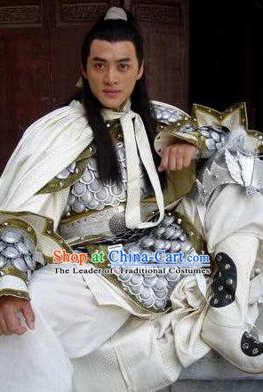 Chinese Ancient Tang Dynasty Prince Li Chengqian Replica Costume for Men