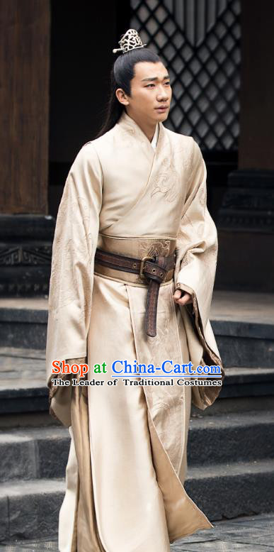 Chinese Nirvana in Fire II Ancient Southern and Northern Dynasties Prince Xiao Yuanqi Historical Costumes for Men