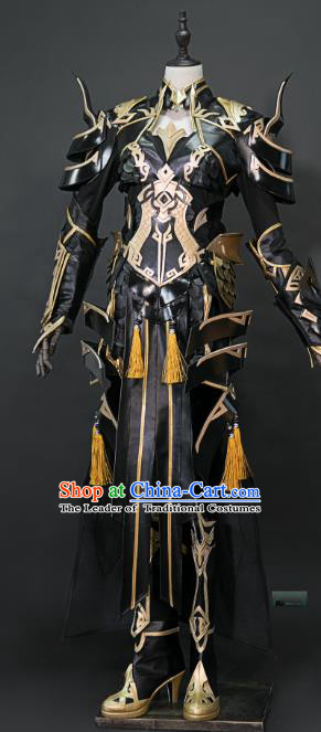 China Ancient Cosplay Female Swordsman Costumes Chinese Traditional Knight-errant Clothing for Women