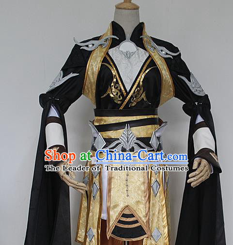 China Ancient Cosplay Knight-errant Costumes Chinese Traditional Swordsman Warriors Clothing for Women