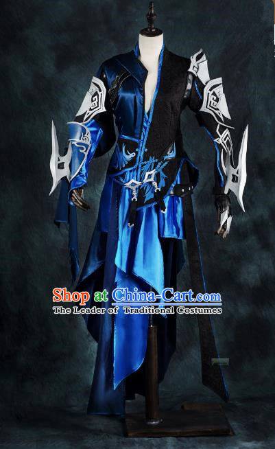 China Ancient Cosplay Female Swordsman Costumes Chinese Traditional Warriors Knight-errant Clothing for Women