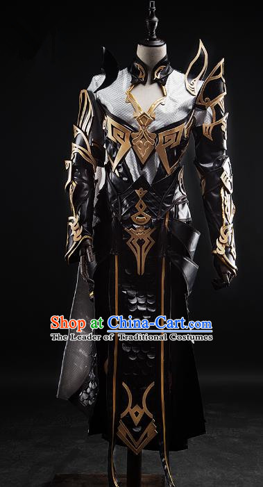 China Ancient Cosplay Female Knight-errant Costumes Chinese Traditional Swordsman Warriors Clothing for Women