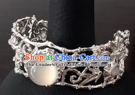 Traditional Handmade Chinese Ancient Classical Accessories Crystal Hanfu Bracelet for Women